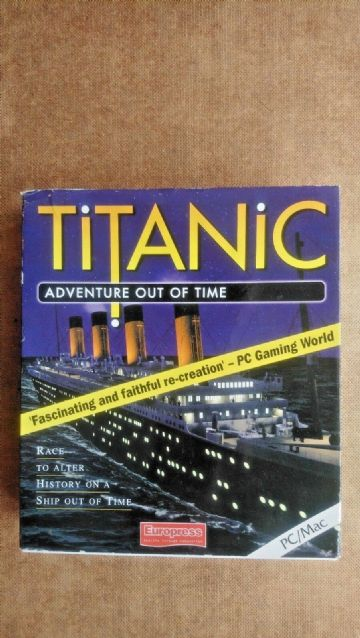 Vintage Titanic Adventure out of Time (PC Windows 1996) Big Box Edition